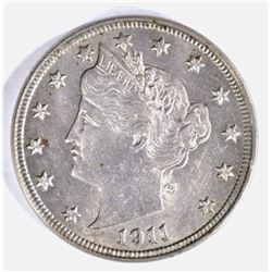 "1911 LIBERTY ""V"" NICKEL AU/BU"
