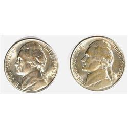 2 - 1939-S JEFFERSON NICKELS GEM BU