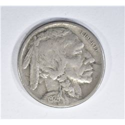 1924-S BUFFALO NICKEL FINE