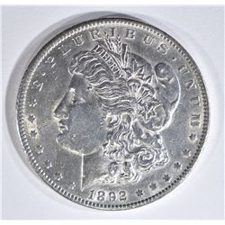 1892 MORGAN DOLLAR BU CLEANED