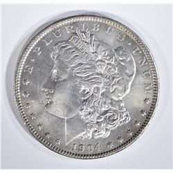 1904 MORGAN DOLLAR AU/BU CLEANED