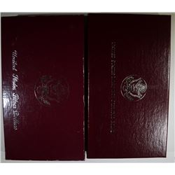 2-U.S. MINT 2-PIECE COMMEMORATIVE SETS