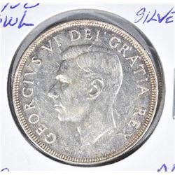 1950 SILVER CANADA DOLLAR