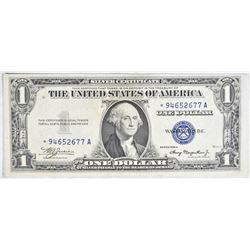 1935 A $1 SILVER CERTIFICATE STAR NOTE