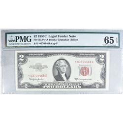 1953C $2 LEGAL TENDER NOTE
