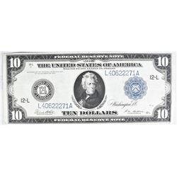 1914 $10 FEDERAL RESERVE NOTE FR951