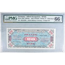 1944 20 MARK ALLIED MILITARY CURRENCY