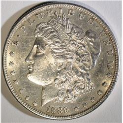 1889-S MORGAN DOLLAR  CH BU