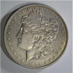 1895-S MORGAN DOLLAR BU CLEANED
