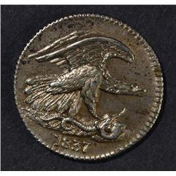 1837 FEUCHTWANGER CENT BU