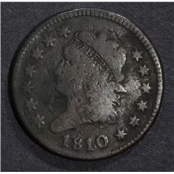 1810 LARGE CENT GOOD SPOTS