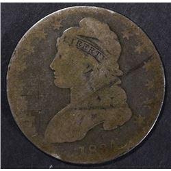 1834 CAP BUST HALF