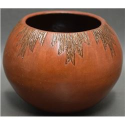 NAVAJO INDIAN POTTERY BOWL (WILLIAMS)
