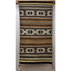 NAVAJO INDIAN TEXTILE (RUSSELL)
