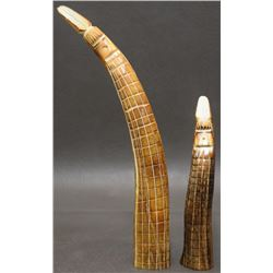 ZUNI INDIAN ANTLER FETISHES