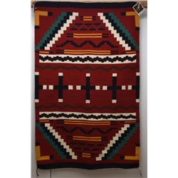 NAVAJO INDIAN TEXTILE (DANLEY AND LOUISE BAHE)