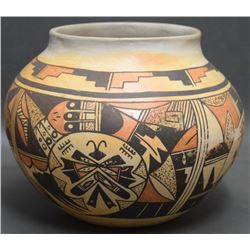 HOPI INDIAN POTTERY OLLA (ANNA SETELLA)