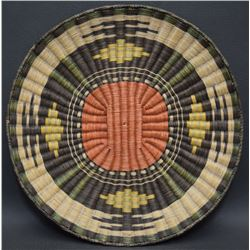 HOPI INDIAN BASKETRY PLAQUE