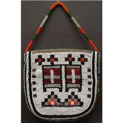 PLATEAU INDIAN BEADED PURSE