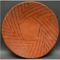 MARICOPA INDIAN POTTERY PLATE