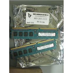 2x 2GB sticks of Ram