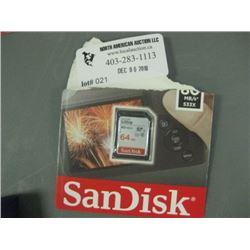 ScanDisk 64GB SD