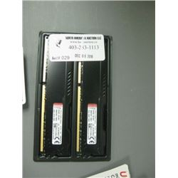 HyperX 2 x 8GB Ram