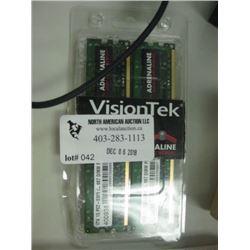 VisionTek 2 x 1GB Sticks