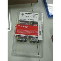 Hyper x 2 x 8GB DDR4