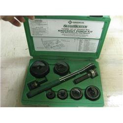 GreenLee 7238SB Punch Set