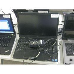 DELL - LATITUDE E6540 INTEL I7 VPRO W/ PWR SUPPLY, UNTESTED, NO HDD