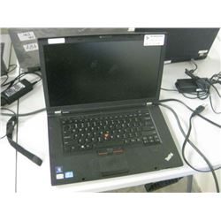 LENOVO - THINK PAD T530 INTEL i5 2.6 GHZ  120GBSSD HDD / 8GB RAM BATTERY HOLDS CHARGE W/POWER SUPPLY