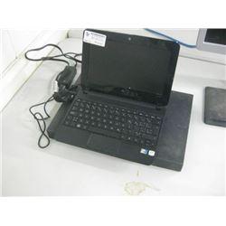 HP COMAPAC MINI - HSTNN-E04C Q INTEL ATOM- BROKEN LCD W/POWER SUPPLY - UNTESTED