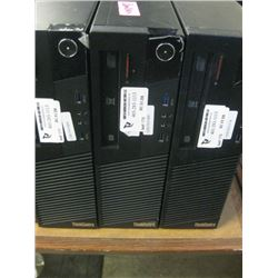 THINK CENTRE M-10A9 - 000 SUS Intel i5 4570 3.2 Ghz / 8GB Ram/ DVD-CDRW Optical / Dual Display Port