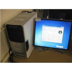 DELL DIMENSION E520 INTEL CORE2 6300 1.86GHZ / 1GB / 500GB SATA / DVD RW OPTICAL /WIN7 PRO UNACTIVAT