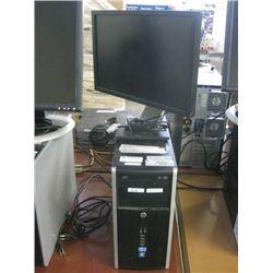 HP COMPAC 6200 PRO MICROTOWER i3 -2120 3.30GHZ / 4GB RAM /500GB SATA /WIN10 PRO UNACTIVATED W/ DELL