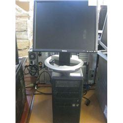 CUSTOM CASE AMD ATHALON 64 X2 DUAL CORE 4400 2.30GHZ / 8GB RAM / 500GB SATA/ DVD RW OPTICAL /WIN7 PR