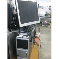 HP COMPAC DC7700 CONVERTIBLE MINI TOWER PENTIUM D 3.40GHZ / 1GB RAM /500GB SATA / ZOTAC 210 512 64 B