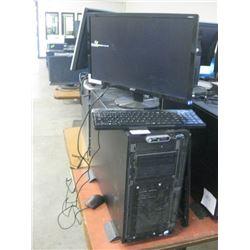 DELL POWEREDGE 1900 INTEL XEON E5320 1.86 1.86GHZ \ 1GB RAM \ 300 GB hdd AND 600 GB HDD\ DVD OPTICAL