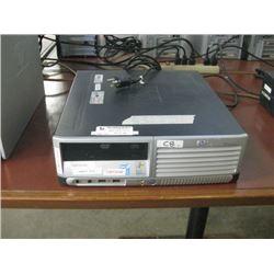 HP COMPAQ DC7900 SMF INTEL PENTIUM D 3.40 GHZ\ 2GB RAM \ 500 GB SATA\DVD ROM \ WIN 7 UNACTIVATED