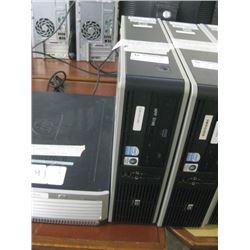 HP COMPAQ DC7800 SMF INTEL DUAL CPU E2180 2.00 GHZ\2 GB RAM \ 500 GB SATA\ DVD ROM \ WIN 7 PRO UNACT