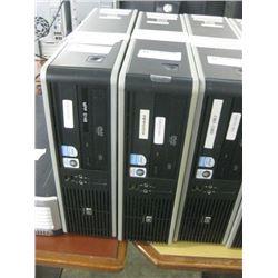 HP COMPAQ DC7800 SMF PENTIUM DUAL E2180 2.00GHZ \ 2GB RAM \ 500 GB SATA\ dvd rom \ WIN 7 PRO UNACTIV