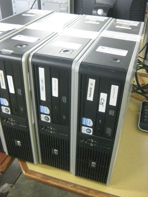 HP Compaq dc7800 SMF Pentium Dual E2180 2 00 GHZ \ 2 GB Ram