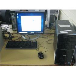 HP Pavilion p6000 Series AMD Phenom II X2 511 3.40 GHZ\ 5GB RAM \ 500 GB Sata \ Smart Media Card Rea