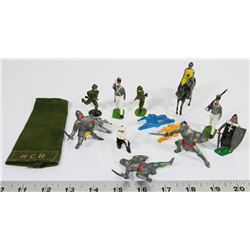 ANTIQUE METAL TOY SOLDIERS