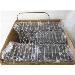 CASE (12) OF NEW 6 SLOT JAM HOLDER WIRE DISPLAYS