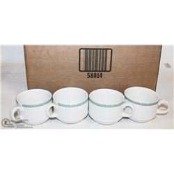 NEW DUDSON STACKING MUGS 8OZ (LOT OF 49)