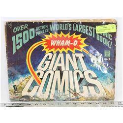 "1967 WHAM-O GIANT COMICS 14""X21"" FORMAT"