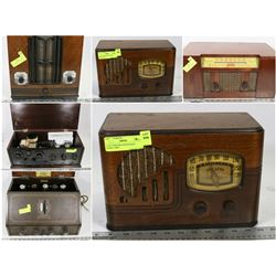 FEATURED LOTS: ANTIQUE/VINTAGE RADIOS!