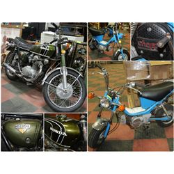 FEATURED LOTS: MOTORCYCLES & BIKES